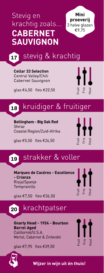 't Wapen van Bunnik - Cellar33 - Cabernet Sauvignon
